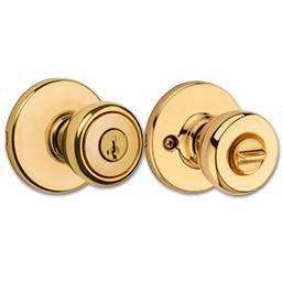 Picture of KWIKSET SMARTKEY TYLO ENTRY LOCK - POLISHED BRASS