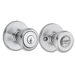 Picture of KWIKSET SMARTKEY TYLO ENTRY LOCK - SATIN CHROME
