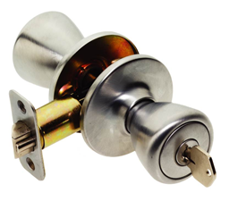 Picture of MAXWELL TULIP ENTRY LOCK - SATIN CHROME