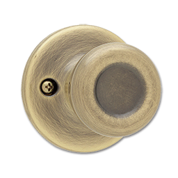 Picture of KWIKSET TYLO DUMMY KNOB- ANT. BRASS