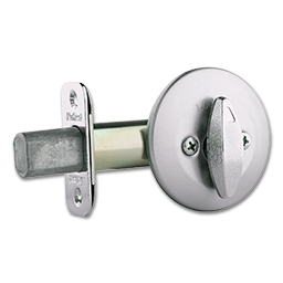 Picture of KWIKSET ONE- SIDED DEADBOLT SATIN CHROME
