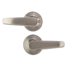 Picture of ELECTRA STRAIGHT PASSAGE LEVER- SATIN NICKEL