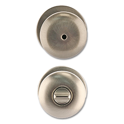 MAXWELL MUSHROOM PRIVACY LOCK - SATIN NICKEL