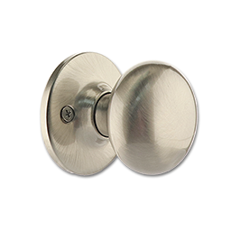 MAXWELL MUSHROOM DUMMY LOCK - SATIN NICKEL