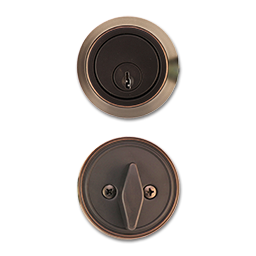Picture of MAXWELL SINGLE CYLINDER DEADBOLT - OIL RUBBED BRONZE