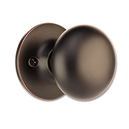 Picture of MAXWELL MUSHROOM DUMMY LOCK - OIL RUBBED BRONZE