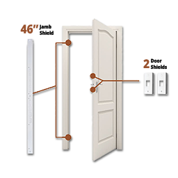 Picture of DOOR ARMOR MINI COMBO-WHITE