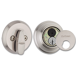 Picture of KWIKSET SMARTKEY CONTROL DEADBOLT- SATIN NICKEL