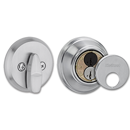 Picture of KWIKSET SMARTKEY CONTROL DEADBOLT- SATIN CHROME