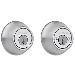 Picture of KWIKSET DOUBLE CYLINDER SMARTKEY DEADBOLT - SATIN CHROME