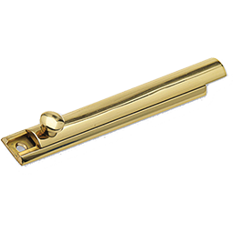 "Picture of SURFACE BOLT 6"" - POLISHED BRASS"