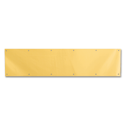 "Picture of 34"" X 8"" BRASS PLATED KICKPLATE"