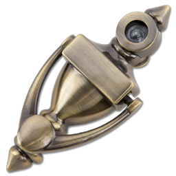 Picture of DOOR KNOCKER WITH VIEWER 180° - AB