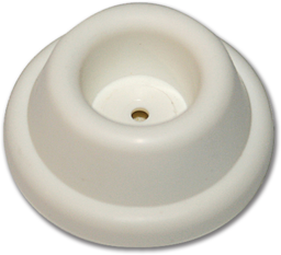 "Picture of WHITE VINYL WALL STOP 1-7/8"" - 2/PK"