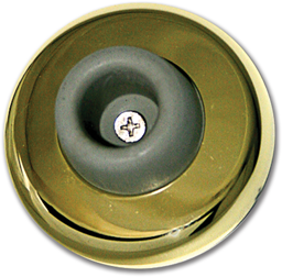 Picture of WALL MOUNT DOOR STOP - POLISHED BRASS
