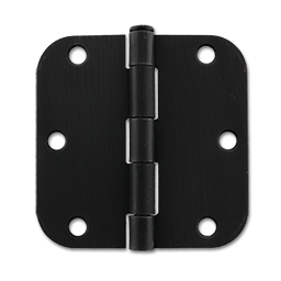 "Picture of 3-1/2"" DOOR HINGE- 5/8""RADIUS-- OIL RUBBED BRONZE (PAIR)"