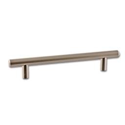 Picture of DECORATIVE CABINET PULL - SATIN NICKEL 176MM 6-5/16""