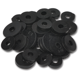 Picture of 1/4R FLAT WASHER - 100/BX