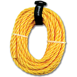 "Picture of 3/8"" X 50' SOLID BRAID POLY DERBY ROPE"
