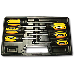 Picture of RHINO GRIP 6 PC SCREWDRIVER SET WITH CARRYING CASE