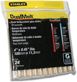 "Picture of 4"" GLUE STICKS - DUAL TEMP - 24/PK"