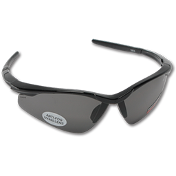 Picture of SAFETY GLASSES GRAY LENS BLACK FRAME