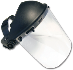 Picture of STANDARD FACE SHIELD- CLEAR LENS