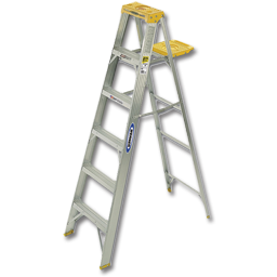 Picture of WERNER 5' ALUMINUM STEP LADDER - 250 LB LOAD