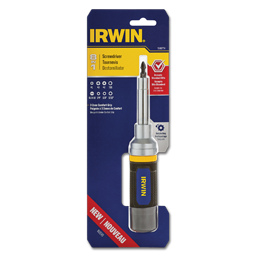 Picture of IRWIN 8 IN 1 MULTI-BIT RACHETING SCREWDRIVER