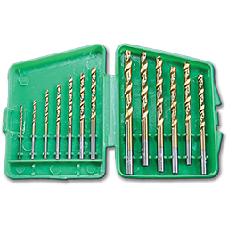 Picture of DRILL BIT SET TITANIUM DRILL BITS - 13 PIECES