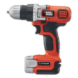 Picture of BLACK & DECKER 12V DRILL KIT WITH CHARGER