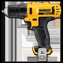 """DEWALT 12V MAX 3/8"""" DRILL/DRIVER KIT"""