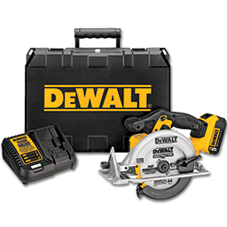 Picture of DEWALT 20V MAX LITHIUM ION CIRCULAR SAW KIT