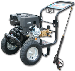 Picture of 4000 PSI PRESSURE WASHER WITH 50' DUAL-LAYER WIRE BRAIDED HOSE