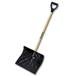 "Picture of SNOW SHOVEL / PUSHER POLY COMBO, 50-1/2"" HANDLE"