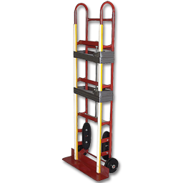 Picture of STEEL APPLIANCE HAND TRUCK WITH RATCHET BELT TIGHTENER