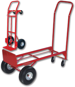 "Picture of CONVERTIBLE HAND TRUCK WITH 10"" PNEUMATICS"