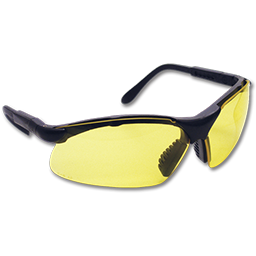 Picture of SIDEWINDER SAFETY GLASSES- YELLOW LENS