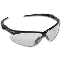 Picture of SAFETY GLASSES CLEAR LENS BLACK FRAME
