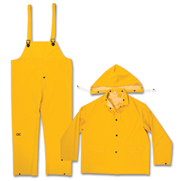 Picture of YELLOW 3 PC. RAINSUIT - MEDIUM