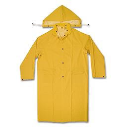 Picture of YELLOW 2 PC. RAIN JACKET - LARGE
