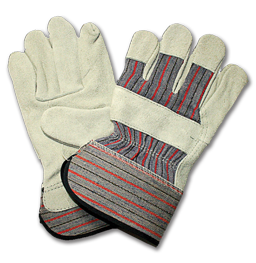 Picture of SPLIT PALM GLOVES - LARGE (PAIR)