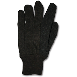 Picture of JERSEY GRIPPER GLOVES WITH PVS DOTS - LARGE