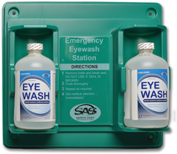 Picture of DUAL EYE WASH STATION WITH 16 OZ BOTTLES