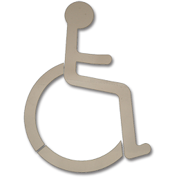 "Picture of HANDICAP STENCIL - 37"" X 29"""