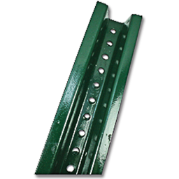 Picture of 8' SIGN POST U CHANNEL - BAKED GREEN ENAMEL