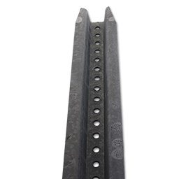 Picture of 8' SIGN POST U CHANNEL - GALVANIZED STEEL