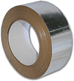 "Picture of ALUMINUM FOIL DUCT TAPE - 3"" X 50 YDS. - 3.5 MIL - UL LISTED"