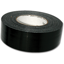 "Picture of BLACK DUCT TAPE CONTRACTOR GRADE 2"" X 60 YDS."