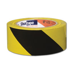 "Picture of HAZARD AISLE MARKING TAPE - 2"" X 36 YDS."